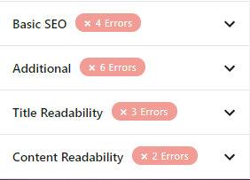 усі розділи рекомендацій щодо оптимізації з рангової математики
