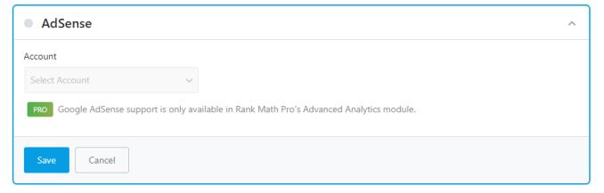 Adsense All Options In Rank Math Module