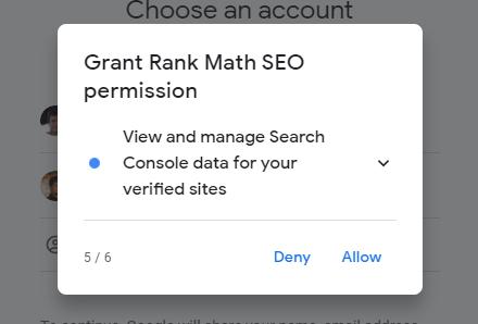Rank Math Permission Five