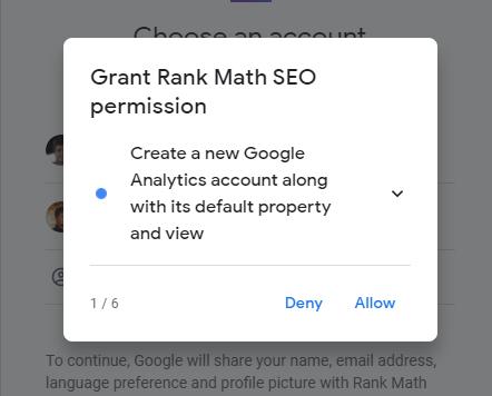 Rank Math Permission One
