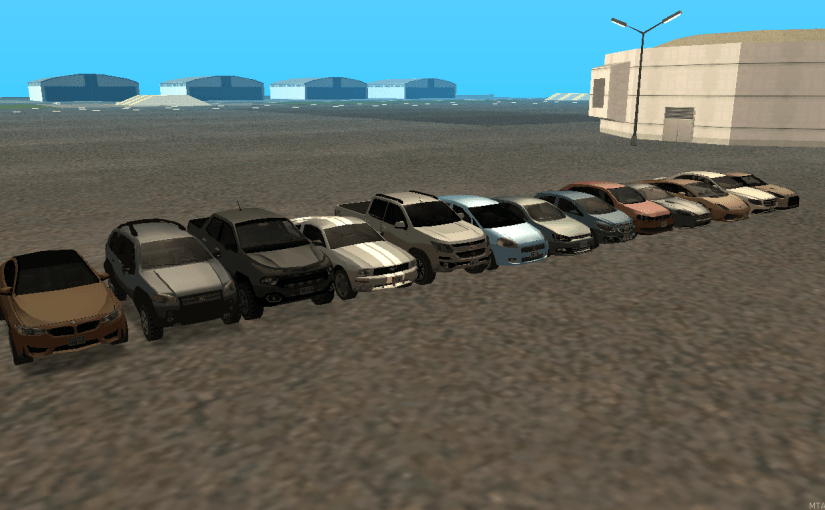 carros lowpoly 1