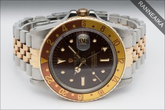 ROLEX GMT-Master Root Beer Nipple Dial ref. 1675/3