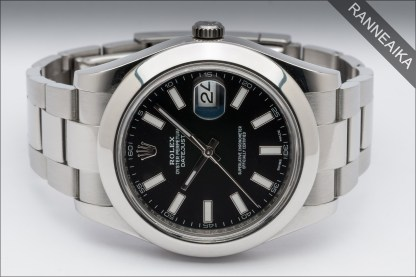ROLEX Datejust II Black ref. 116300