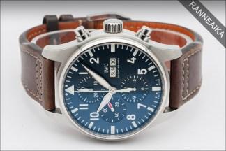 IWC Le Petit Prince Blue Pilot Chronograph ref. IW377714