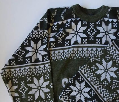 Custom Christmas Sweater example