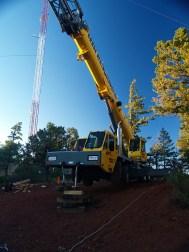 Skilled Crane Setup