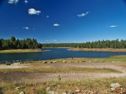 Hawley Lake - a bit low as of September 2015 due to dam repairs.