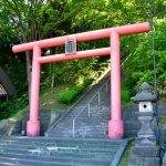 本輪西神社のツツジ