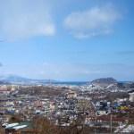大沢町から見た風景