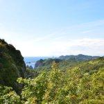 地球岬展望台から見た景色