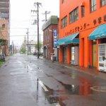 雨の土曜日 (東町にて)