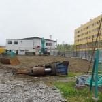 健保会館とアルファマート解体