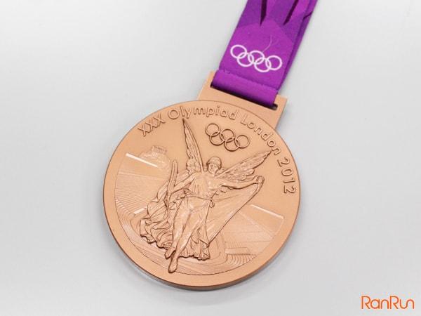 ロンドンオリンピックの銅メダル