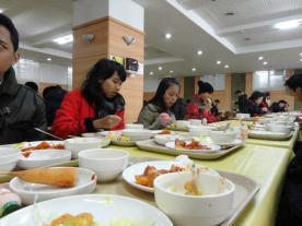 Makan siang ala pelajar korea