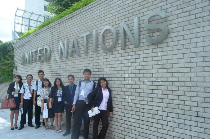 Wohoo ke UN Building!
