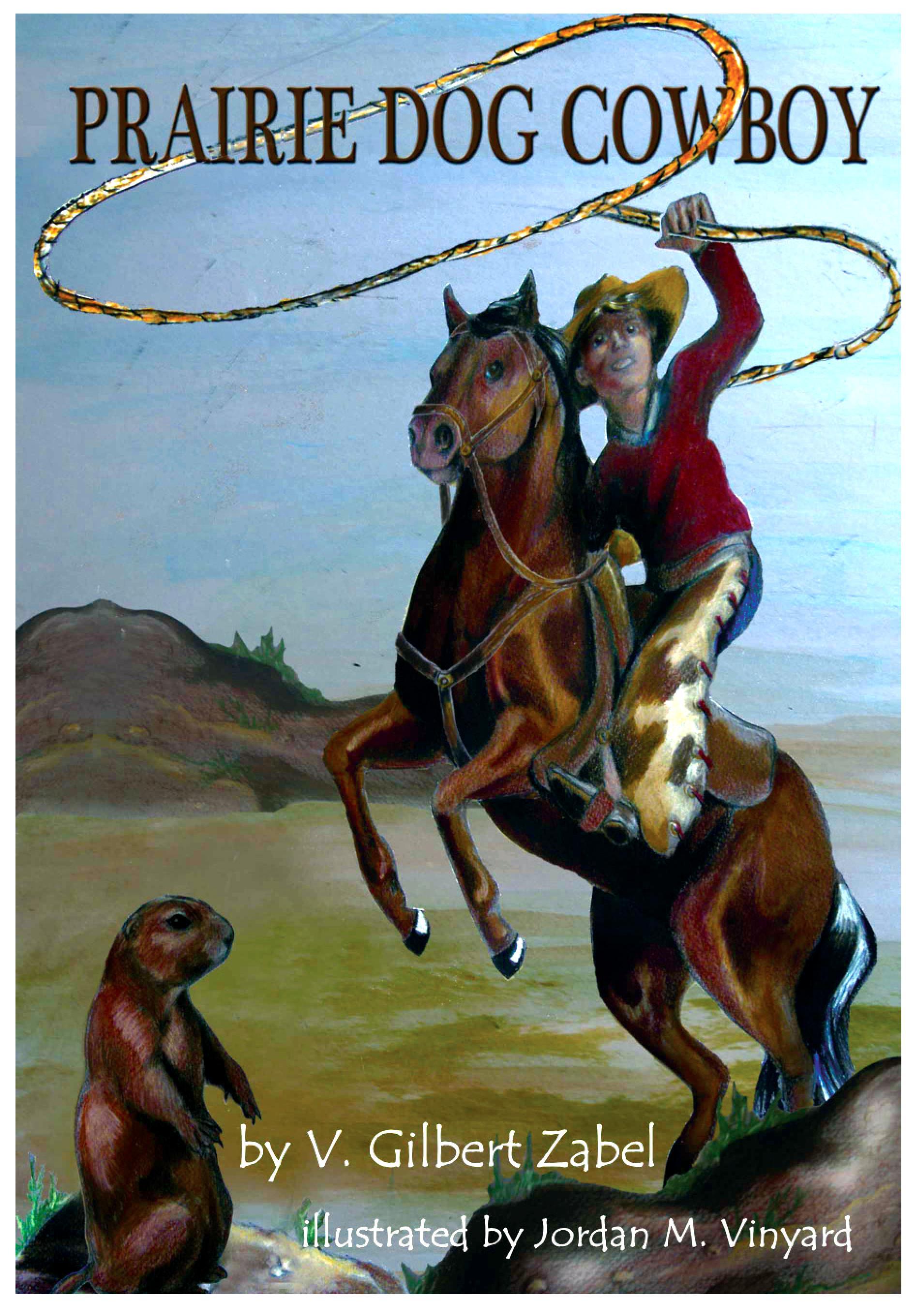 Prairie Dog Cowboy Cover