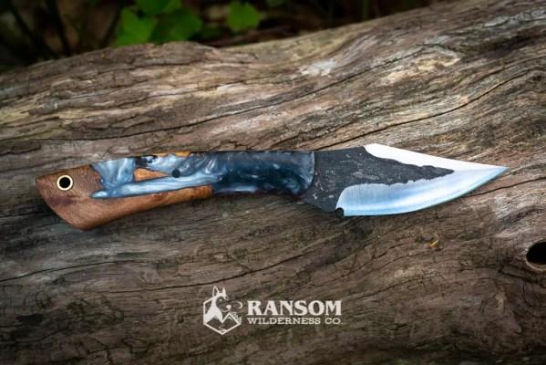 Brush Creek Little Creek Handmade Knife available at Ransom Wilderness Co