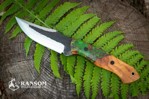 Brush Creek Knives Warden model at Ransom Wilderness Co