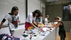 Robot making Workshop  Photo by Nela Dunato