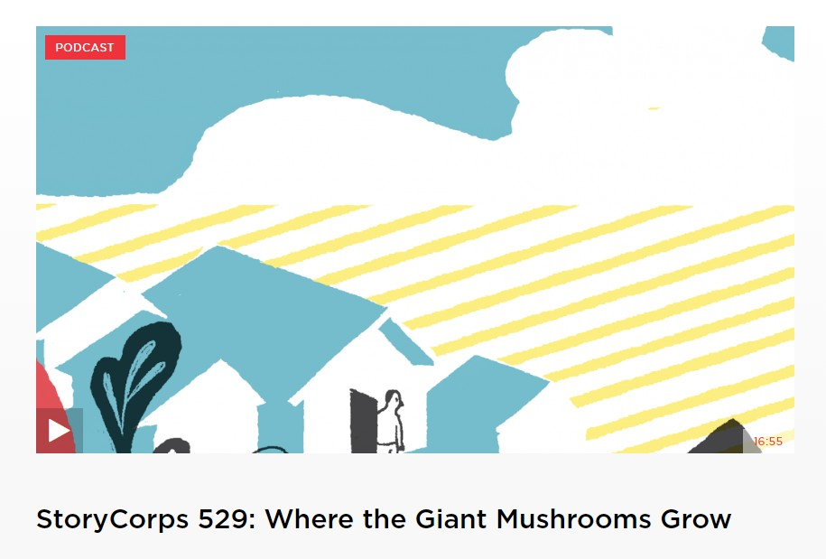 Where the Giant Mushrooms Grow