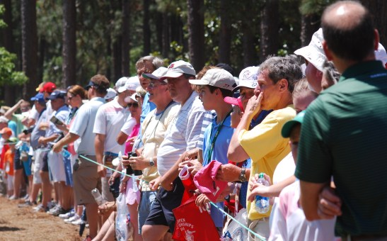 It's crowded in Pinehurst this week. Even more crowded if you're anywhere near Phil Mickelson. | Photo by Billy Liggett