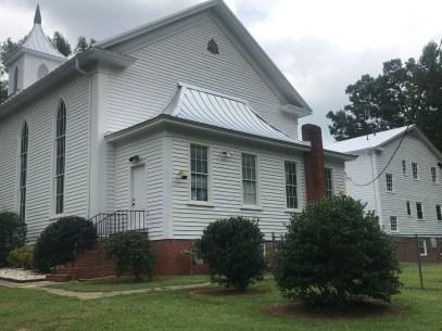 Buffalo Presbyterian Church's gable vent
