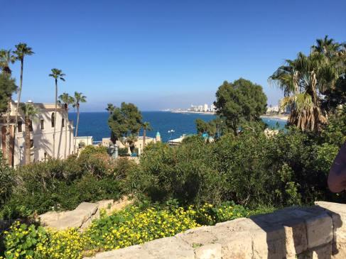 Overlooking Tel Aviv