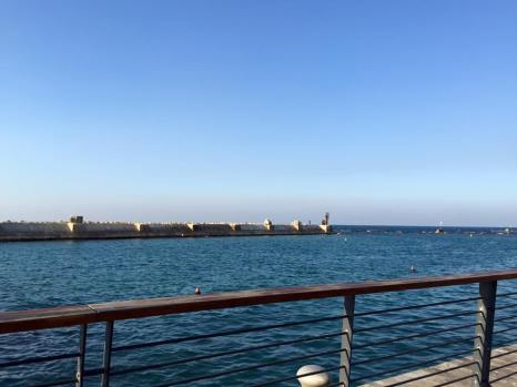 """The Port of Jaffa, mentioned in the Biblical Book of Jonah: """"But Jonah rose up to flee unto Tarshish from the presence of the LORD, and went down to Joppa; and he found a ship going to Tarshish: so he paid the fare thereof, and went down into it, to go with them unto Tarshish from the presence of the LORD"""" (Jonah 1:3)"""