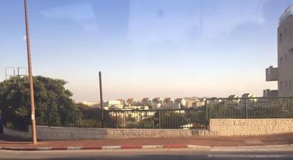 Entering an Israeli settlement