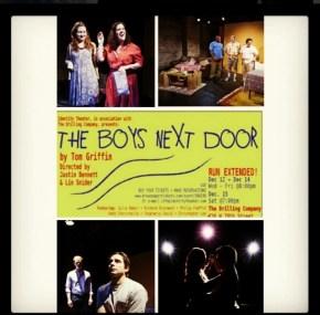 """Poster for """"The Boy's Next Door"""""""
