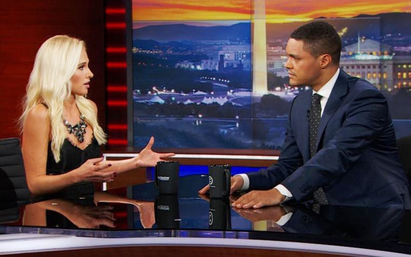 Tomi Lahren on the Daily Show (viaTwitter)