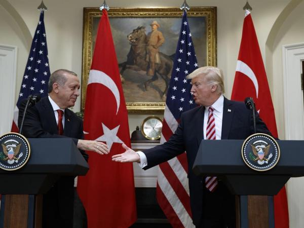 Trump Embraces Turkey's Erdogan As His Henchmen Assault American Citizens
