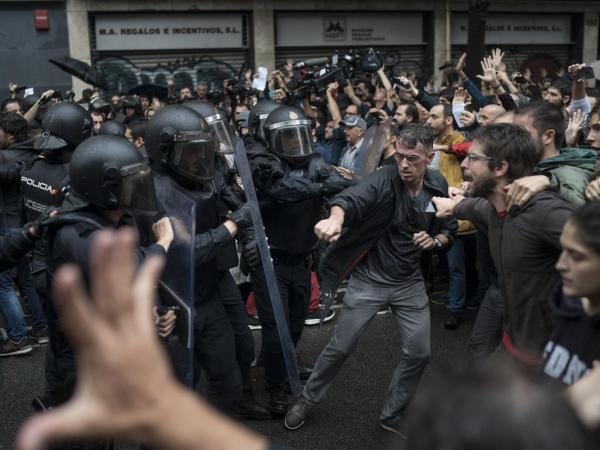 Here In Catalonia, This Feels More Like A Revolution Than A Referendum