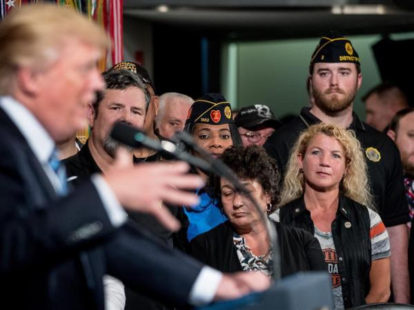Trump Plans Multi-Million Dollar Veteran's Day Parade While 40,000 Veterans Are Homeless