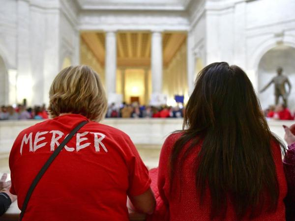 The West Virginia Teacher Strike May Have Sparked A Nationwide Movement
