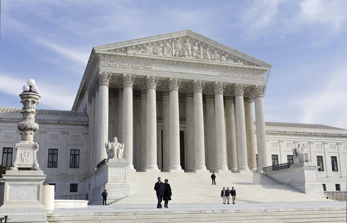 The U.S. Supreme Court Building in Washington. Jan. 25, 2012 (AP Photo/J. Scott Applewhite, File)