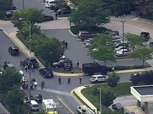 Multiple People Shot And Killed At The Capital Gazette Newspaper In Annapolis, Maryland