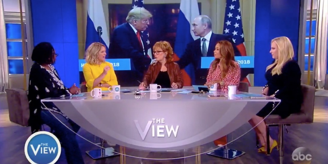 Watch The Co-Hosts Of 'The View' Unanimously Blast The Trump-Putin Helsinki Summit