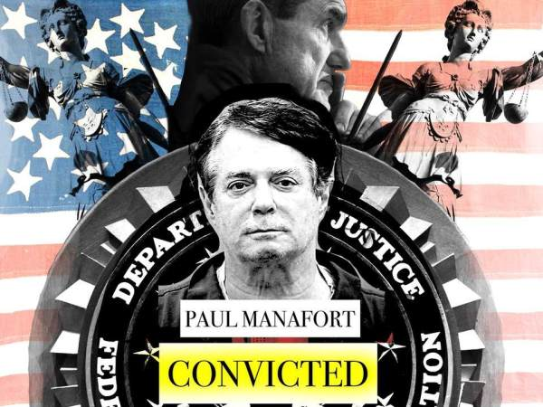Just The Beginning: Paul Manafort, Trump's Former Campaign Chairman, Convicted On 8 Counts