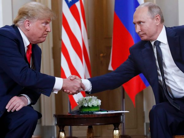 Trump Talked To Putin (Who Attacked US Democracy) About Mueller Report