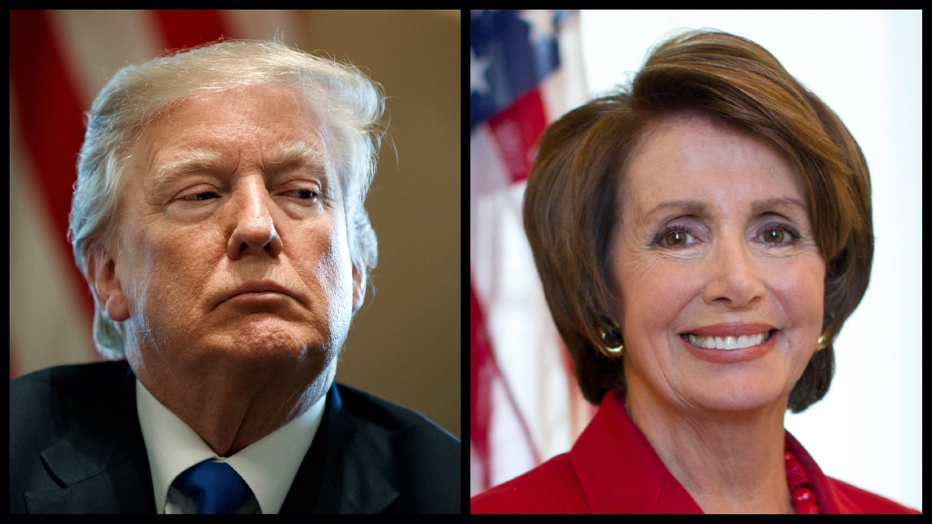 President Donald Trump and Speaker of the House Nancy Pelosi (AP)
