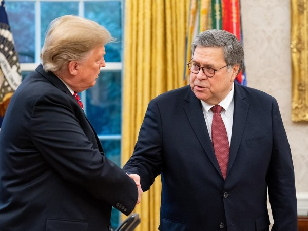 Barr Clears Trump On Obstruction After Writing Memo Attacking Case On Obstruction