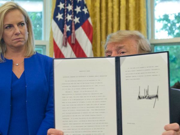 After Detaining Migrant Kids In Cages, Nielsen Claims They Weren't Cages