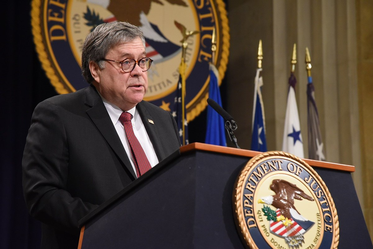 Attorney General William Barr - 26 February 2019 (Department of Justice)