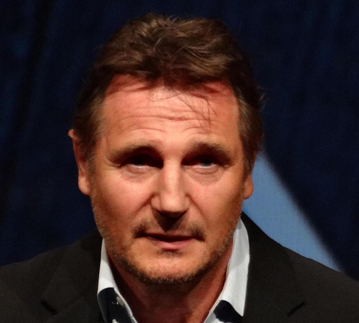 Liam Neeson at the Festival Deauville in 2012 (Elen Nivrae/Flickr/CC)