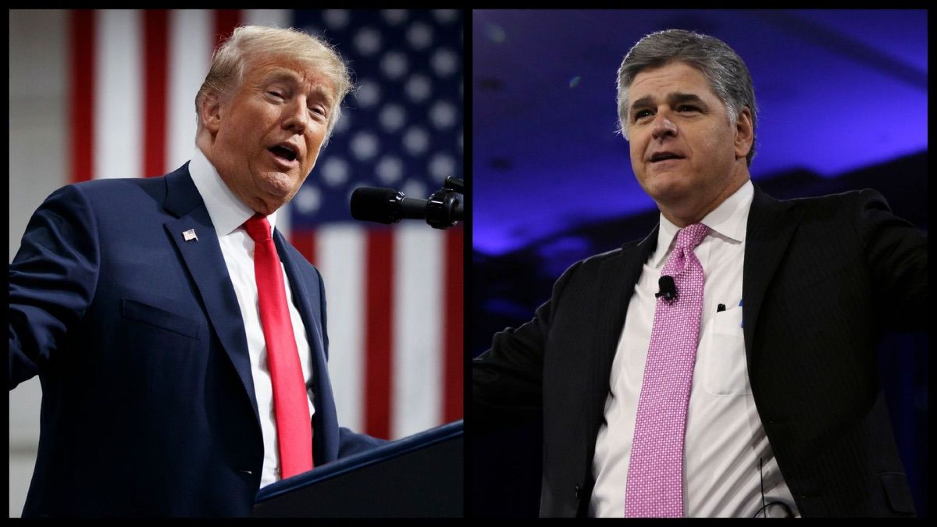 President Trump and Fox News Host Sean Hannity (AP)