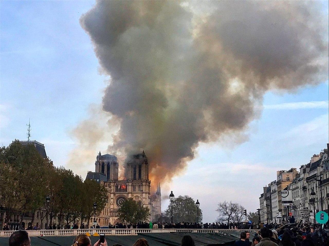 Notre Dame, April 15, 2019