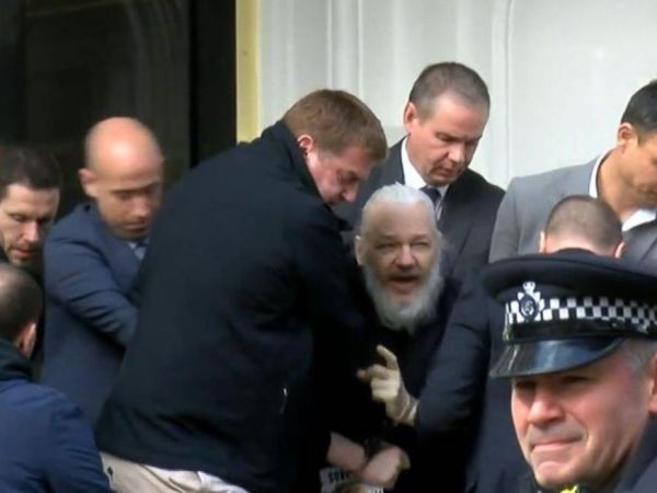 Why The Assange Arrest Isn't An Attack On The Free Press