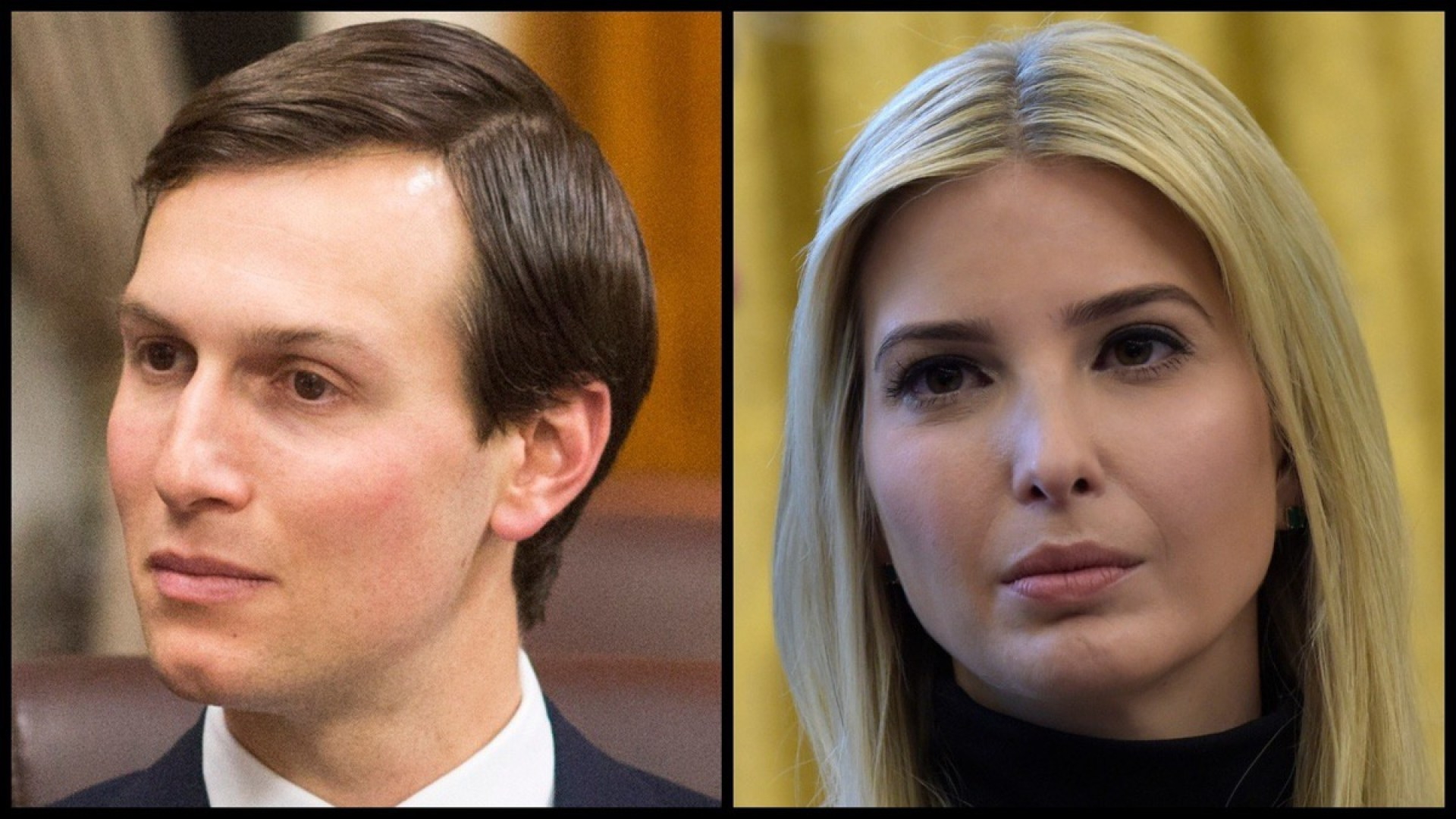 White House Advisers Jared Kushner and Ivanka Trump (Department of Defense/AP)