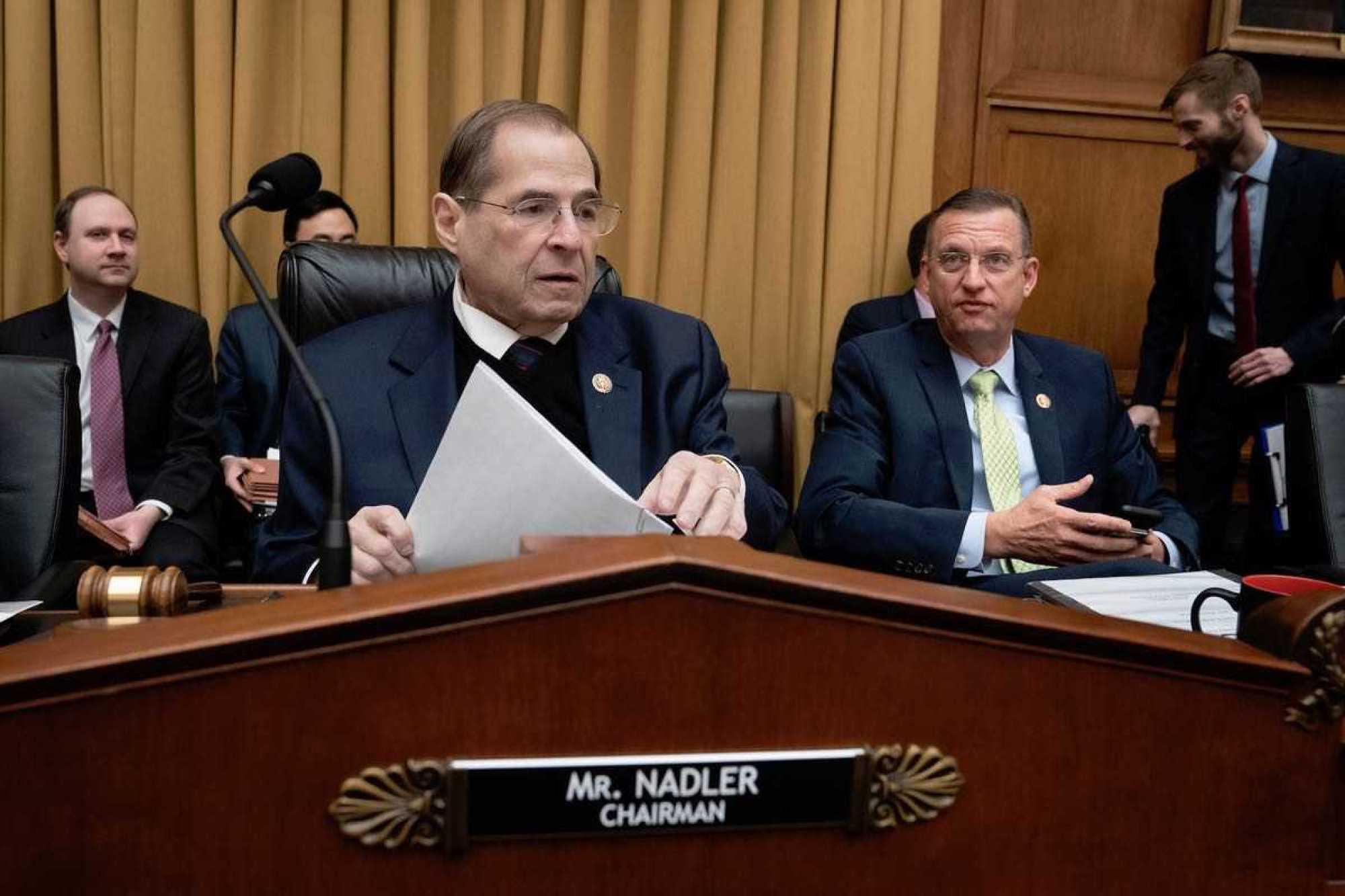 House Judiciary Chairman Jerrold Nadler (D-NY) (AP)